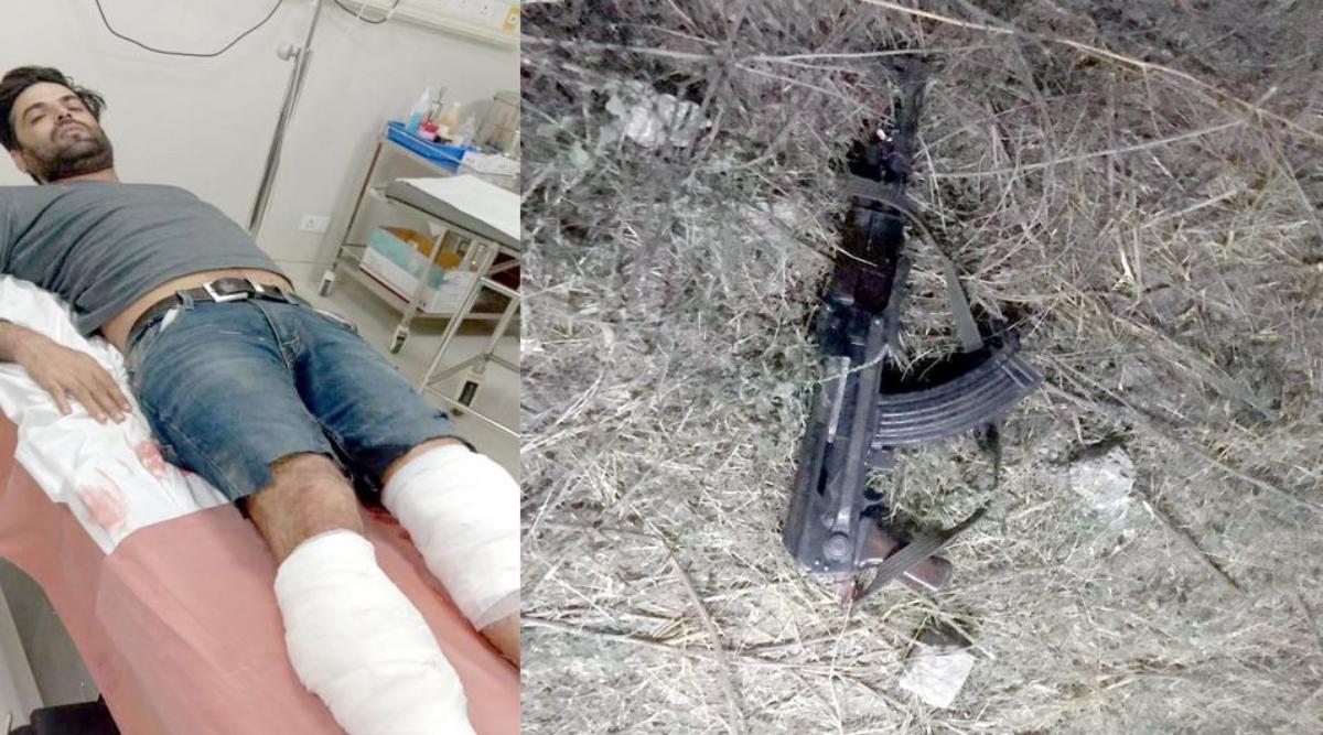 नोएडा: कुख्यात बदमाश को सुरक्षा बलों ने किया गिरफ्तार, AK-47 बरामद