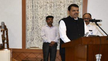 देवेंद्र फडणवीस को महाराष्ट्र का मुख्यमंत्री बनाकर प्रधानमंत्री नरेंद्र मोदी ने पूरा किया वादा