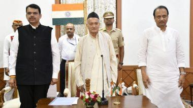महाराष्ट्र: देवेंद्र फडणवीस ने राज्य के मुख्यमंत्री की शपथ, अजीत पवार बनें उपमुख्यमंत्री