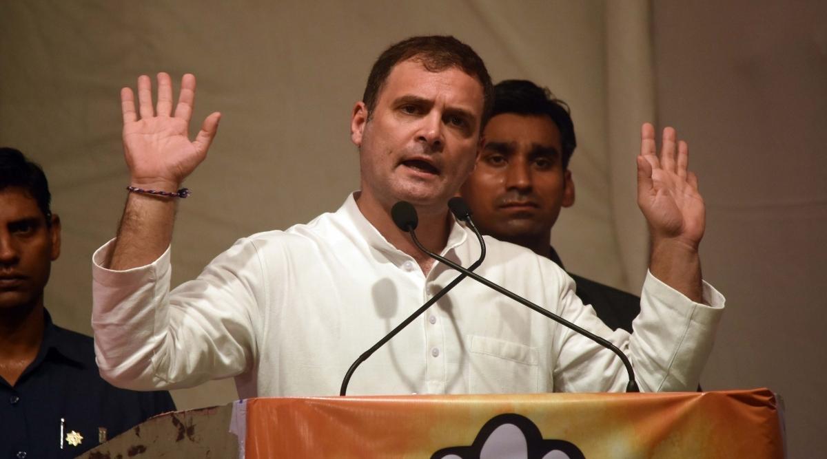 कांग्रेस नेता राहुल गांधी ने  Demonetisation को बताया आतंकी हमला, कहा- इसके लिए जिम्मेदार लोगों अब तक नहीं मिली है सजा