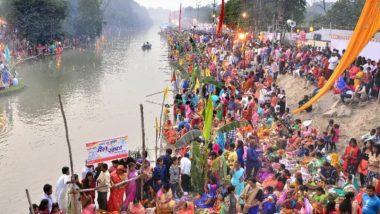 Chhath Puja 2019: आज छठ महापर्व पर दिल्ली में घाटों पर जुट सकती है 10 लाख की भीड़
