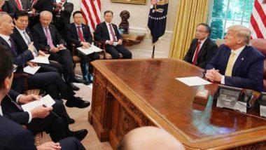 अप्रैल में यूक्रेन को किए फोन की ट्रांस्क्रीप्ट जारी कर सकते हैं अमेरिकी राष्ट्रपति डोनाल्ड ट्रंप