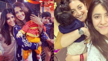 Children's Day 2019: एकता कपूर ने बाल दिवस पर बेटे रवि संग पिता जितेंद्र का क्यूट वीडियो किया शेयर