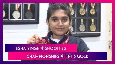 14  साल की Esha Singh ने Asian Shooting Championships में जीते 3 Gold Medals