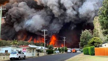 ऑस्ट्रेलिया में जंगल की आग में झुलसे दमकलकर्मी, कई घर जलकर हुए खाक, राहत एंव बचाव कार्य जारी