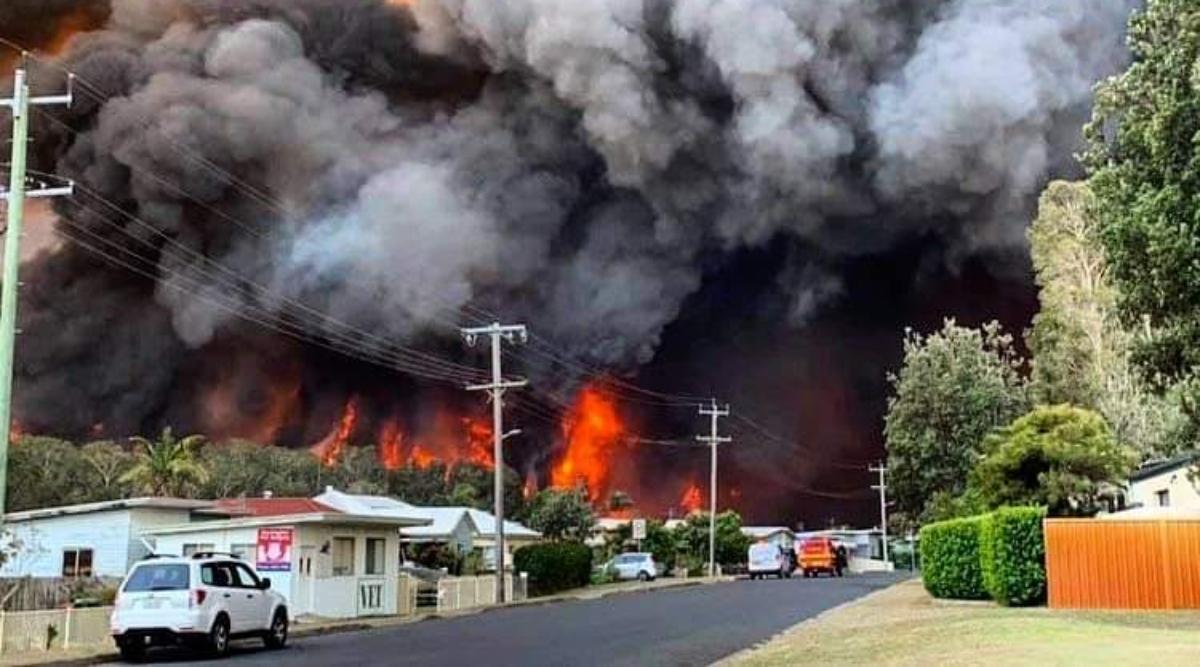 आस्ट्रेलिया के जंगल में भीषण आग, 3 लोगों की हुई मौत 30 घायल