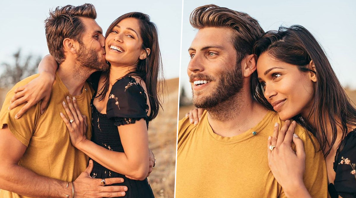 स्लमडॉग मिलियनेयर एक्ट्रेस फ्रीडा पिंटो ने की सगाई की घोषणा, रोमांटिक फोटो शेयर करके दी खुशखबरी