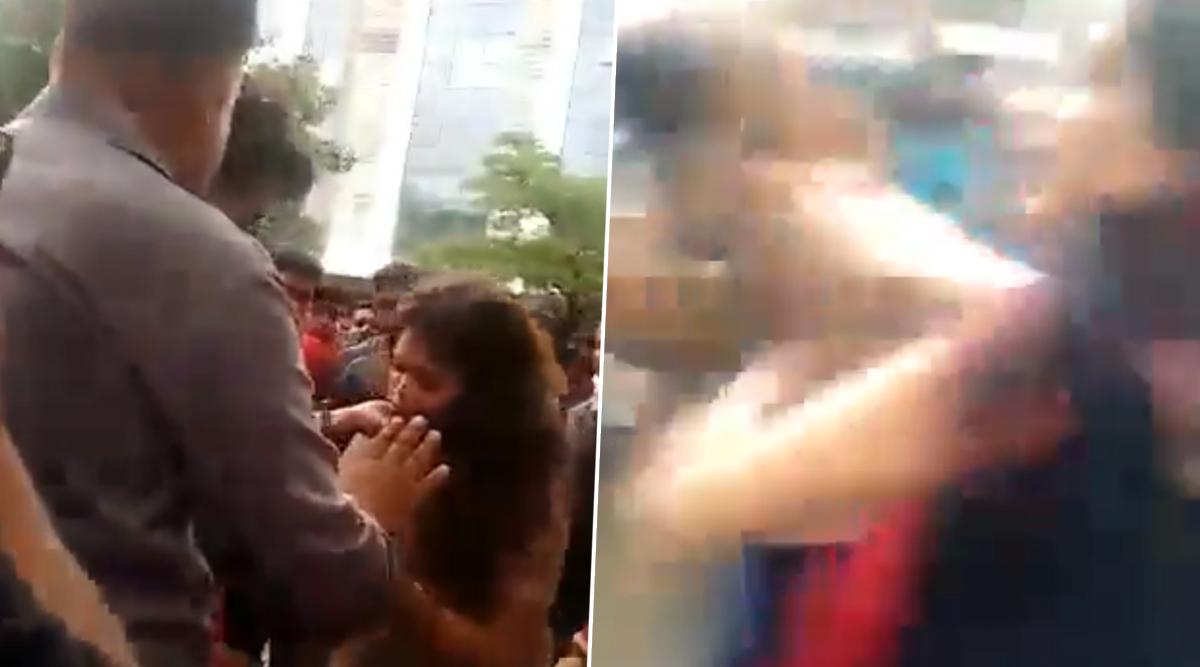 इंदौर: सहकर्मी के साथ फिल्म देखने गए शख्स को पत्नी और साली ने पकड़ा रंगे हाथ, उसके बाद जो हुआ... देखें वीडियो