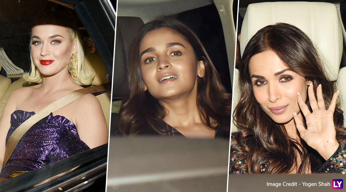 PHOTOS: Katy Perry के स्वागत में मुंबई में सजी बॉलीवुड सेलिब्रिटीज की महफिल, मलाइका अरोड़ा, आलिया भट्ट समेत ये स्टार्स हुए शरीक