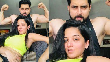 Monalisa Hot Pics: भोजपुरी एक्ट्रेस मोनालिसा ने पति के साथ शेयर की हॉट फोटोज, फिटनेस देखकर लट्टू हुए फैंस