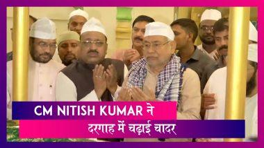 Milad-Un-Nabi पर CM Nitish Kumar ने Phulwari Sharif Dargah पर चढ़ाई चादर