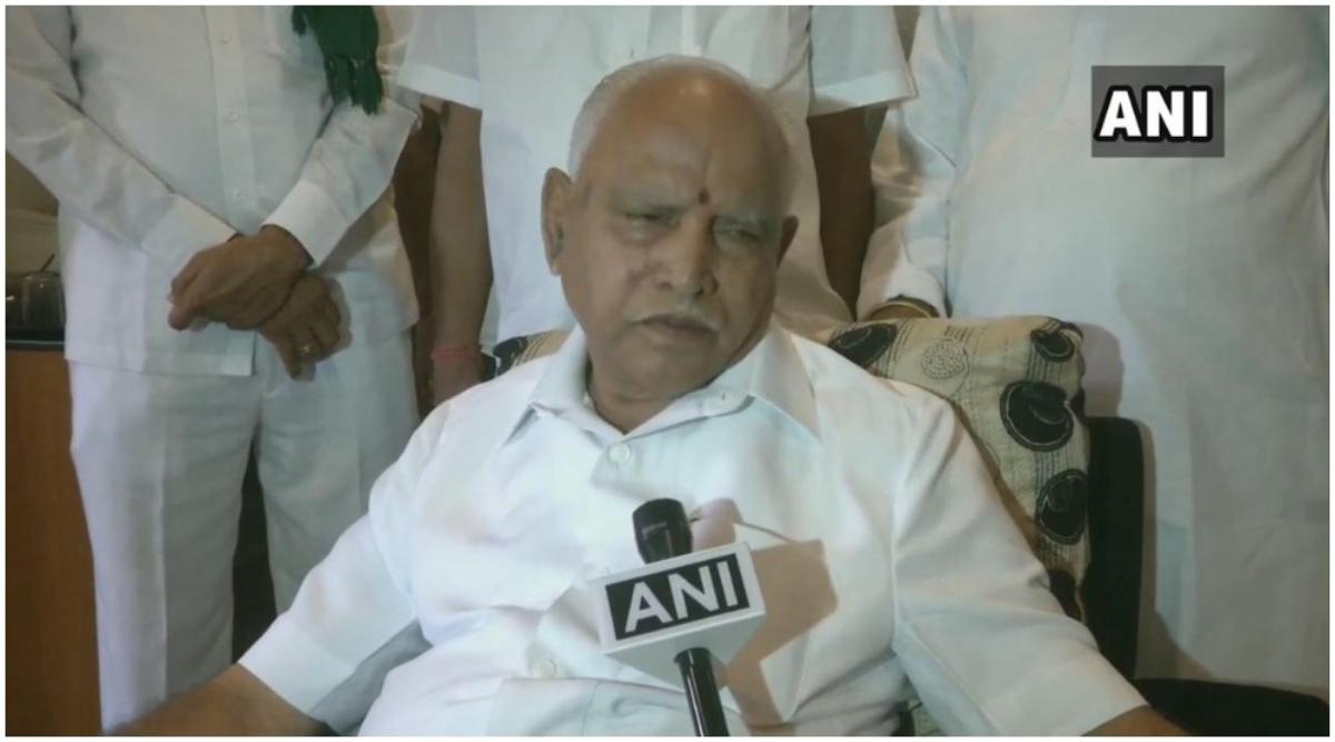 भारत निर्वाचन आयोग ने 'जातिवादी' भाषणों के लिए सीएम बी.एस. येदियुरप्पा के खिलाफ प्राथमिकी दर्ज