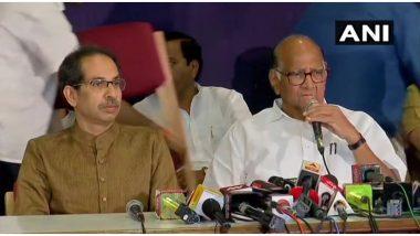 महाराष्ट्र में सरकार गठन पर शरद पवार बोले- अजित पवार का फैसला पार्टी  के खिलाफ, होगी कार्रवाई