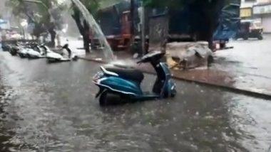 Delhi Rains: दिल्ली-फरीदाबाद सीमा के बदरपुर क्षेत्र में जलभराव, देखें तस्वीर