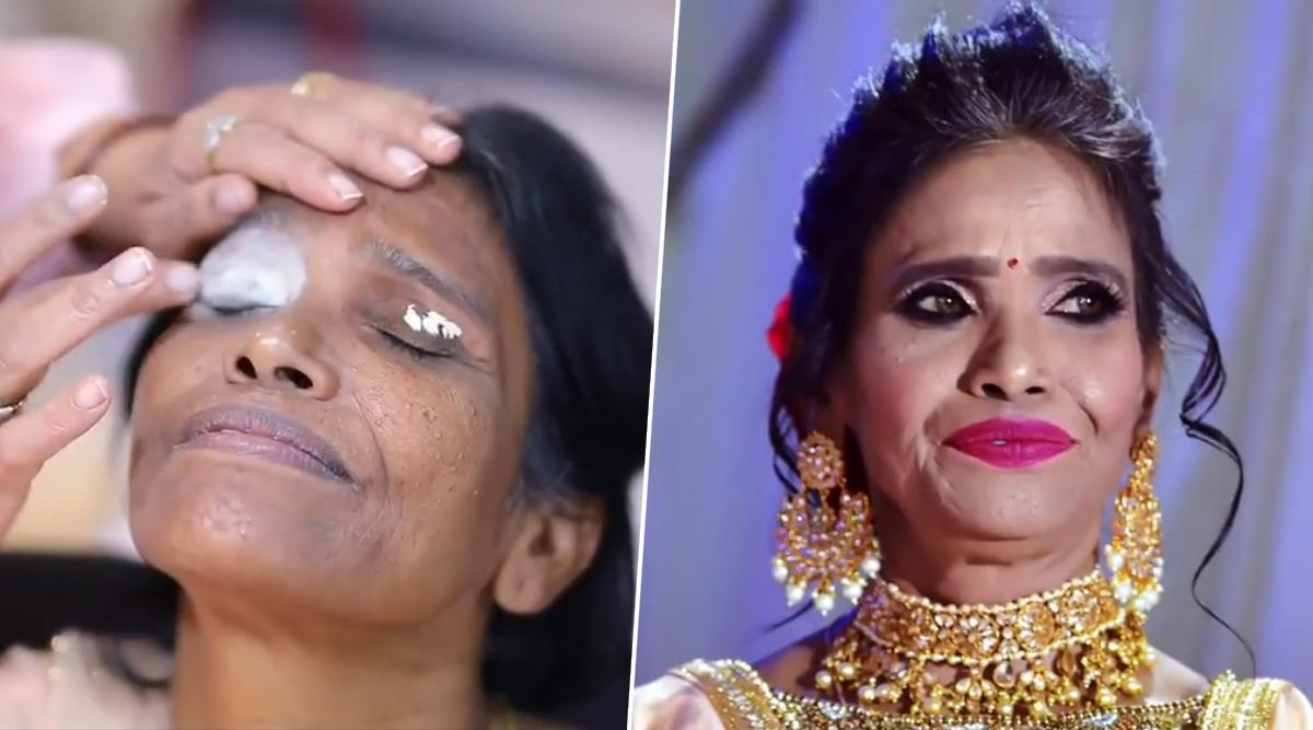 रानू मंडल के Viral फोटो की सच्चाई आई सामने, देखें मेकअप का असली Video