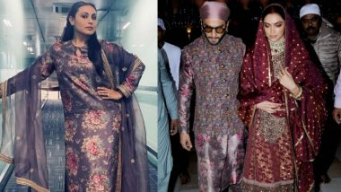 रणवीर सिंह और रानी मुखर्जी के बीच दिखा अजीब संयोग, एक जैसी ड्रेस पहने आए नजर