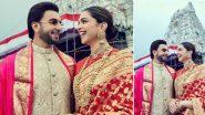 FIRST PICS: रणवीर सिंह-दीपिका पादुकोण ने तिरुपति बालाजी में मत्था टेककर मनाई शादी की पहली सालगिरह
