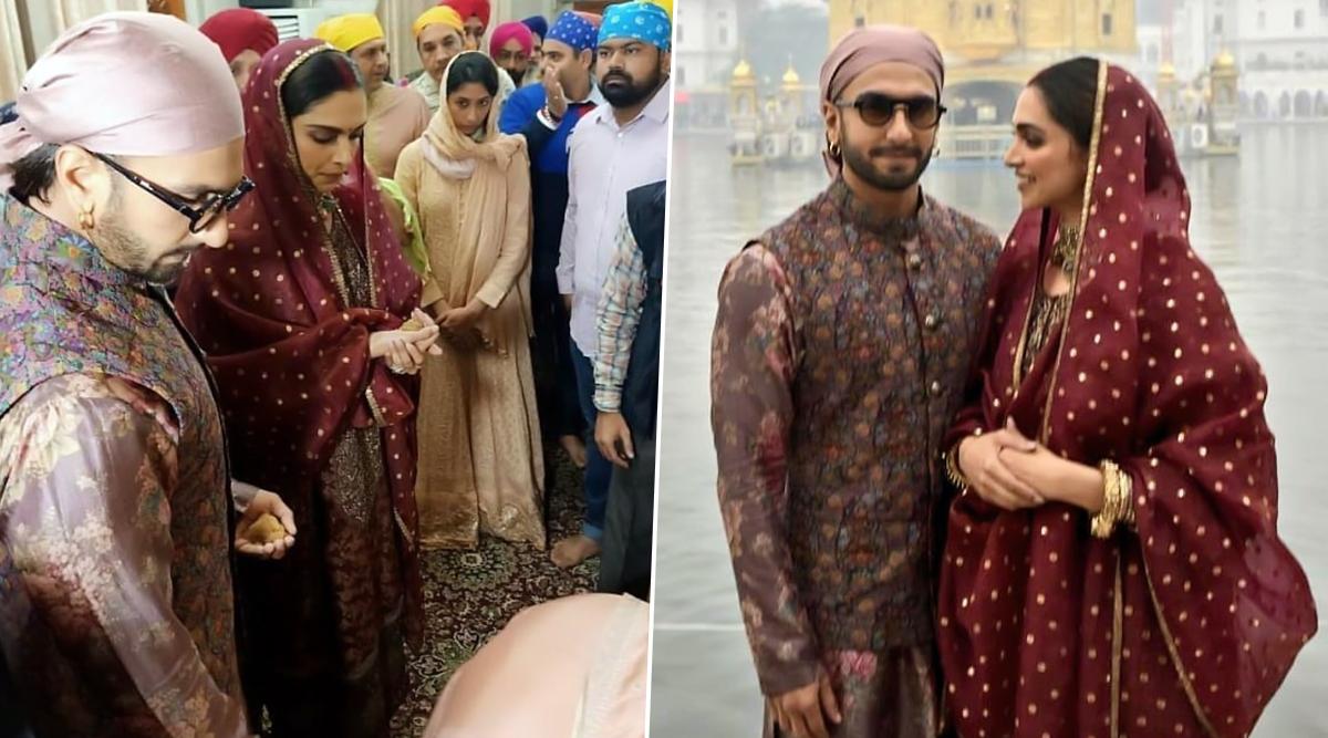 Ranveer-Deepika Marriage Anniversary: तिरूपति के बाद स्वर्ण मंदिर पहुंचे रणवीर सिंह-दीपिका पादुकोण, रॉयल लुक ने जीता फैंस का दिल, See Pics