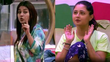 Bigg Boss 13: घर में फिर उछला राखी सावंत का नाम, रश्मि देसाई ने शहनाज पर कर डाला पर्सनल कमेंट
