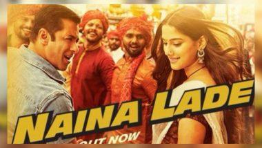सलमान खान की फिल्म 'दबंग 3' का गाना 'नैना लड़े' का ऑडियो हुआ रिलीज, यहां सुनें