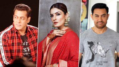 रवीना टंडन का शॉकिंग खुलासा, कहा-आमिर खान-सलमान खान 'अंदाज अपना अपना' के सेट परनहीं करते थे बात
