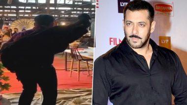 सलमान खान ने शुरू की फिल्म राधे की शूटिंग, स्लो मोशन में सेट पर मारी एंट्री (वीडियो)