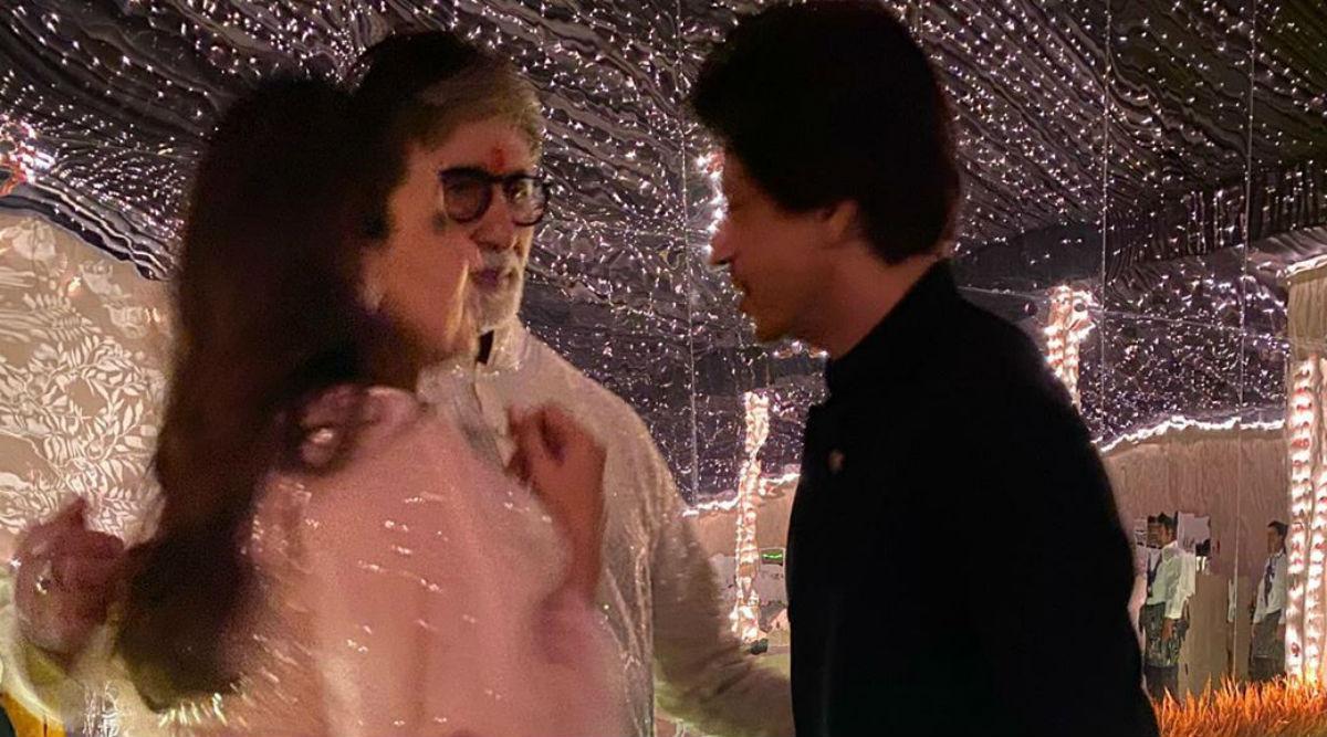 खराब तबीयत से जूझ रहे अमिताभ बच्चन ने शाहरुख खान-गौरी खान के साथ शेयर की फोटो, कही ये बात