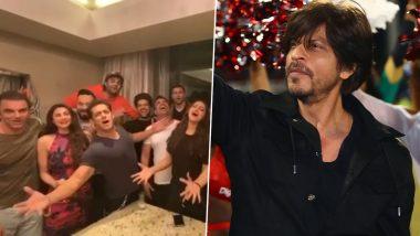 शाहरुख खान के जन्मदिन पर उमड़ा सलमान खान का प्यार, टीम 'दबंग 3' के साथ Video शेयर करके गाया बर्थडे सॉन्ग