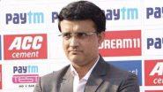 Sourav Ganguly Hospitalised: बीसीसीआई चीफ सौरव गांगुली की फिर बिगड़ी तबियत, अपोलो अस्पताल में किया गया भर्ती