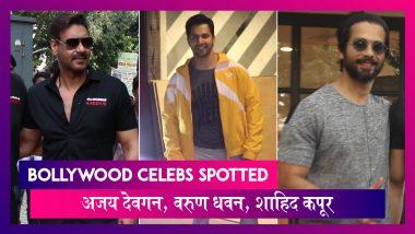 Tanhaji के Trailer Launch पर पहुंचे Ajay Devgn, Varun Dhawan जिम के बाहर आए नज़र | Celebs Spotted