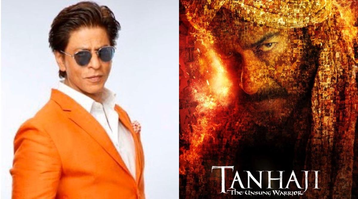 अजय देवगन 'तानाजी' से लगाने जा रहे हैं फिल्मों की सेंचुरी, तो वहीं शाहरुख खान ने कही ये बात