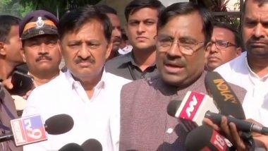BJP नेता सुधीर मुंगटीवार बोले- बीजेपी और शिवसेना साथ, जल्द मिलेगी अच्छी खबर