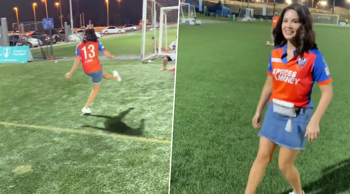 Sunny Leone Videos: फुटबॉल खेलती सनी लियोन का वीडियो हुआ Viral, फैंस ने दिया ऐसा रिएक्शन