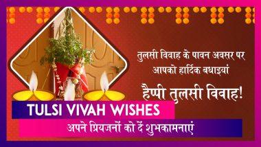 Tulsi Vivah 2019 Wishes: तुलसी विवाह पर पर ये हिंदी मैसेजेस भेजकर अपने प्रियजनों को दें शुभकामनाएं