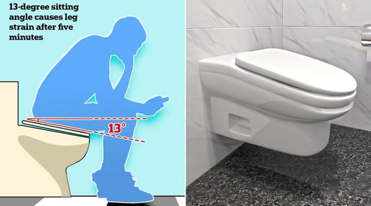 टाइमपास करने वाले कर्मचारियों के लिए बनाया गया खास टॉयलेट, 5 मिनट से ज्यादा बैठने पर होगा घुटनों में दर्द