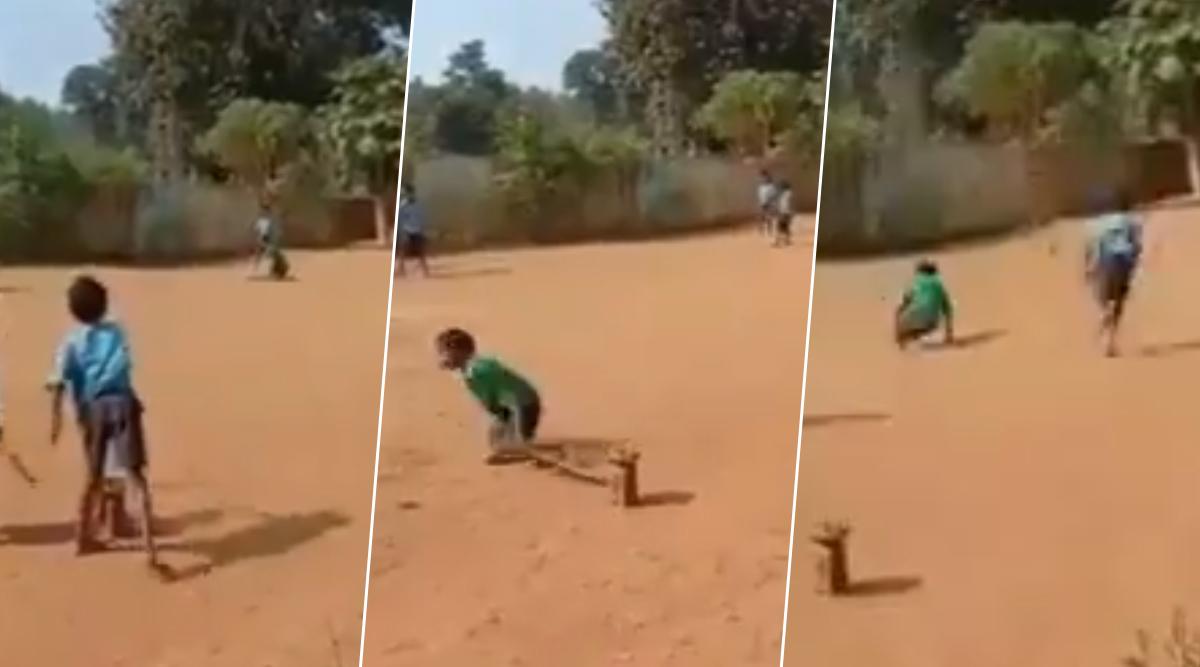 इस दिव्यांग बच्चे को क्रिकेट खेलता हुआ देखकर आप भी हो जाएंगे हैरान, देखें वायरल वीडियो