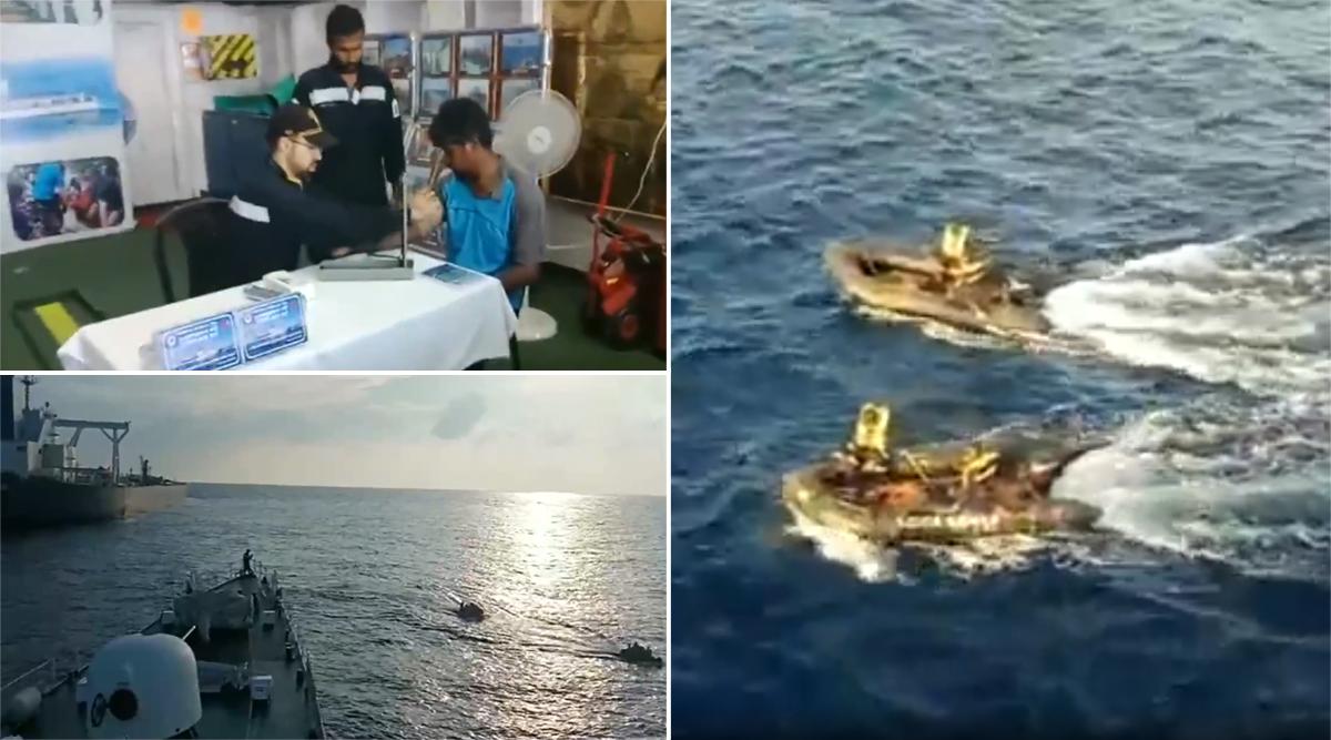 भारतीय तट रक्षकों ने समुद्र में फंसे 264 मछुआरों को अरब सागर से बचाया