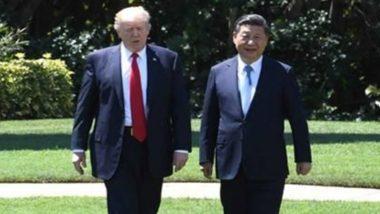 चीनी राष्ट्रपति शी चिनफिंग और अमेरिकी राष्ट्रपति डोनॉल्ड ट्रम्प ने फोन पर की बातचीत