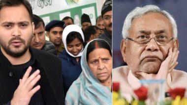 बिहार में रेप और हत्या की घटनाओं को लेकर CM नीतीश पर जमकर बरसे राबड़ी-तेजस्वी, कहा- हैवानों की ढाल बन रही है मरी हुई सरकार