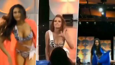 Miss Universe 2019: रैंप पर स्विमशूट पहन वॉक करने आई कई कंटेस्टेंटस के फिसले पैर, एक के पीछे गिरी एक