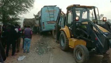 मध्यप्रदेश के रीवा में बड़ा हादसा, ट्रक-बस में भीषण टक्कर- 5 की मौत, 7 घायल