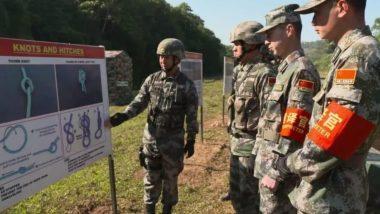 चीनी और भारतीय सेनाओं का 'हैंड-इन-हैंड-2019' आतंकवाद-रोधी प्रशिक्षण, आतंक के खात्मे की करेंगे तैयारी