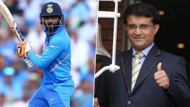 IND vs WI: रविंद्र जडेजा की बल्लेबाजी से खुश हुए सौरव गांगुली, ट्वीट कर कही ये बड़ी बात