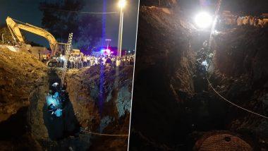 पुणे: फायर ब्रिगेड कर्मी सहित पांच लोग गड्ढे में गिरे, तीन को सुरक्षित निकाला गया