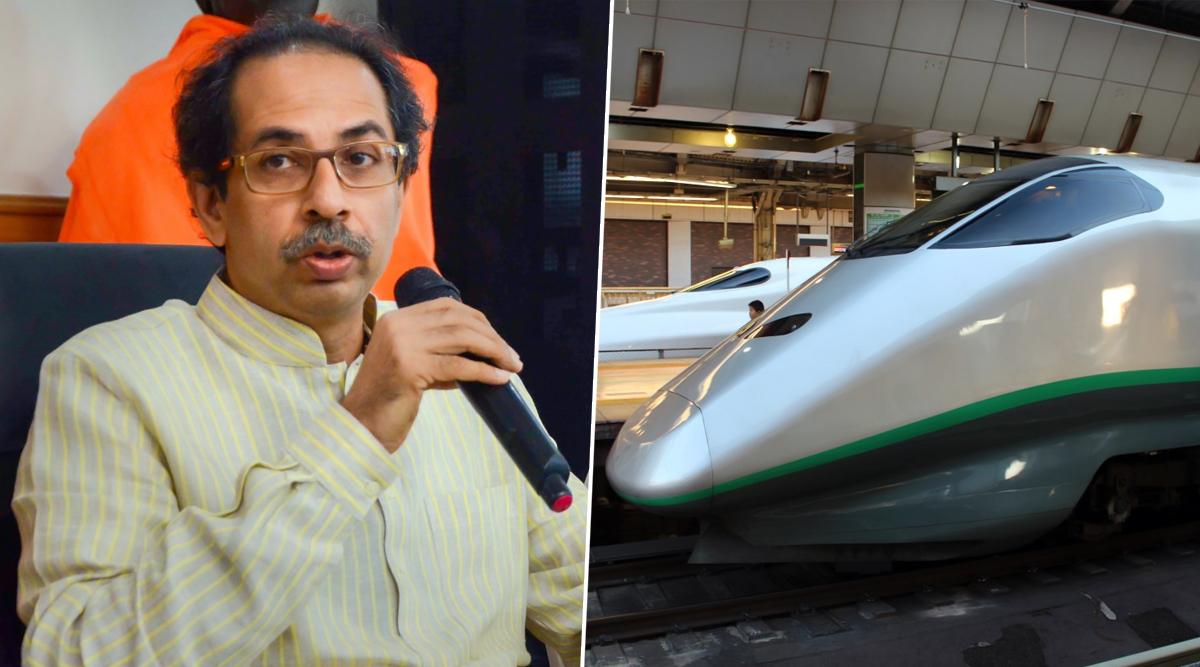 महाराष्ट्र: ठाकरे सरकार ने बुलेट ट्रेन परियोजना पर लगाई ब्रेक