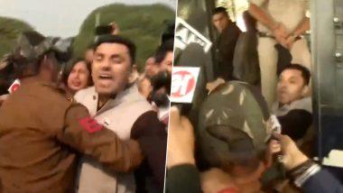 दिल्ली: प्याज के बढ़ते दाम पर तहसीन पूनावाला कर रहे थे सीतारमण का विरोध, घसीटते हुए ले गई पुलिस, Video