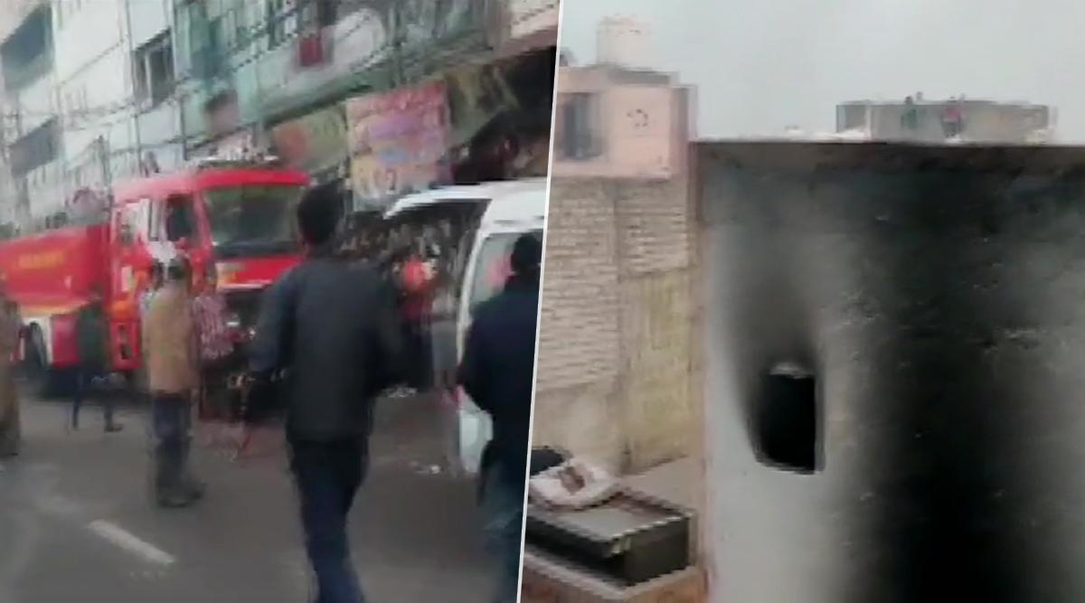 दिल्ली: अनाज मंडी में लगी भीषण आग-50 लोगों का रेस्क्यू किया गया, मौके पर दमकल की 27 गाड़ियां
