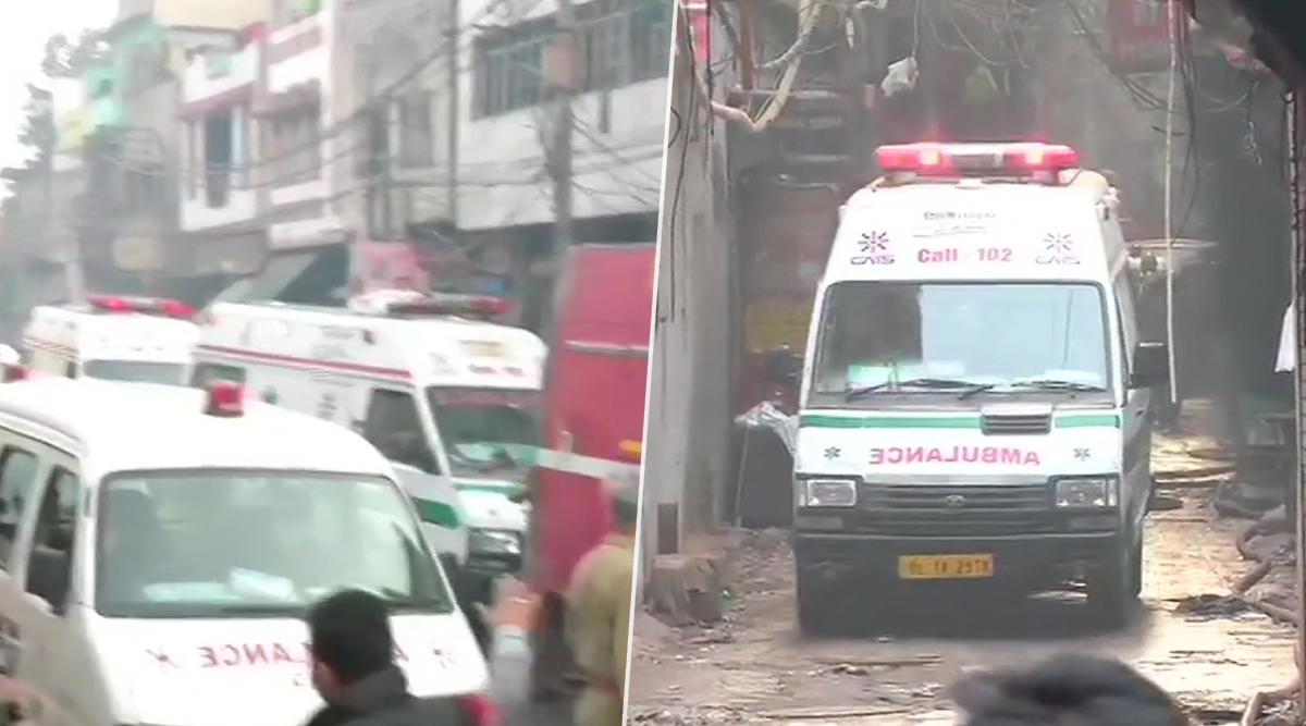 दिल्ली: अनाज मंडी इलाके में भीषण आग, 35 लोगों की मौत- कई अभी भी फंसे
