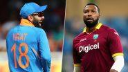 WI 173/2 in 18.3 Overs (Target 170/7) | India vs West Indies 2nd T20I 2019 Live Score Update:  लेंडल सिमंस को मिला 'मैन ऑफ द मैच'