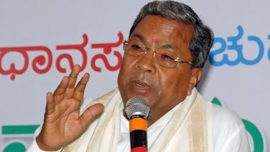 कर्नाटक उपचुनाव में कांग्रेस को तगड़ा झटका, सिद्धारमैया ने सोनिया गांधी को भेजा इस्तीफा